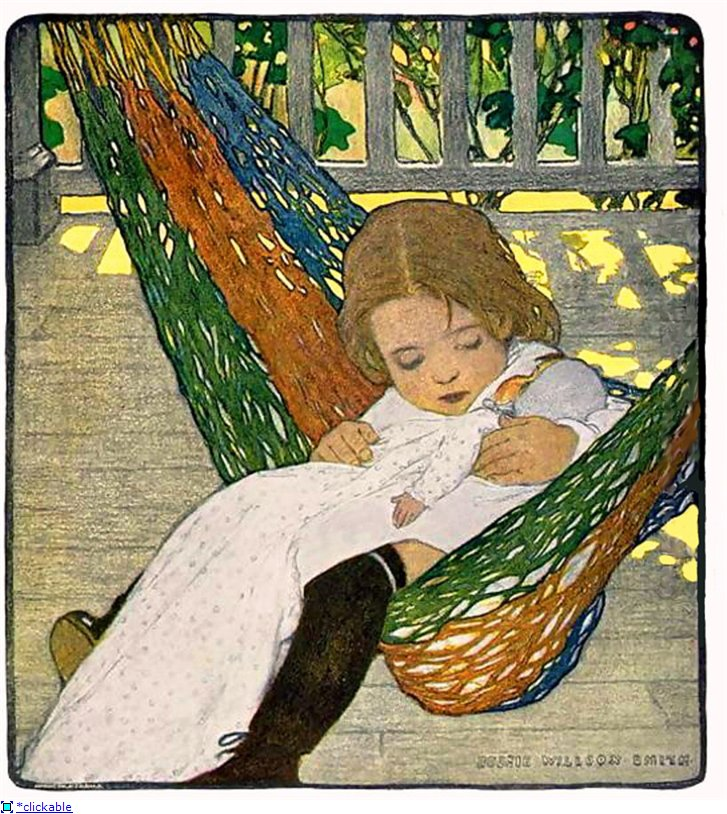 Работы Jessie Willcox Smith (1863–1935).