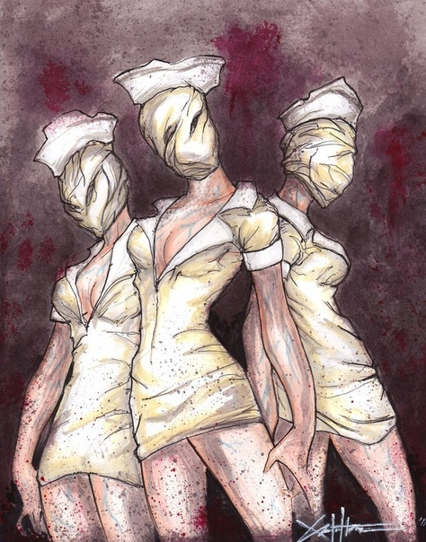 #арты@the_territory_of_fear #silenthill #silent_hill #nurse