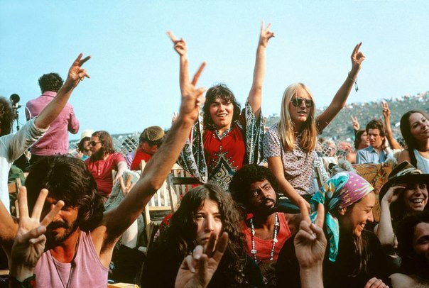 Isle of Wight Festival, Англия, 1969 год.